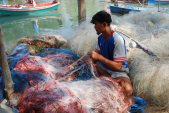 fisher and gillnet